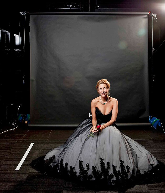 **Catriona Rowntree** Host and OCRF ambassador Catriona Rowntree.