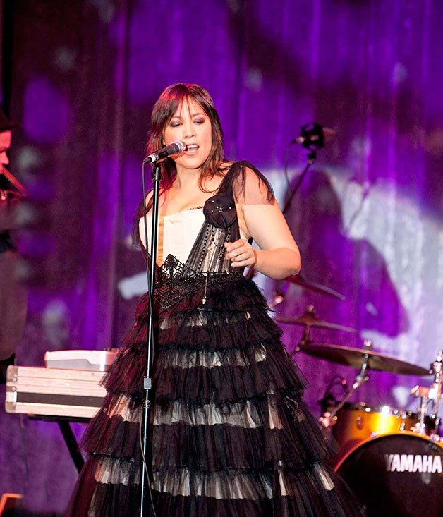 **** Singer Kate Ceberano.