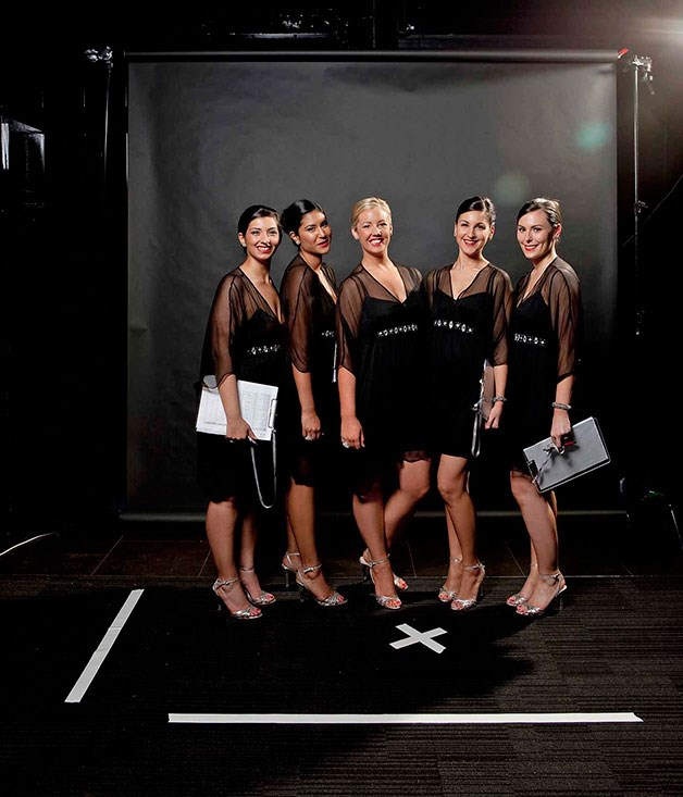 **** The Witchery hostesses.