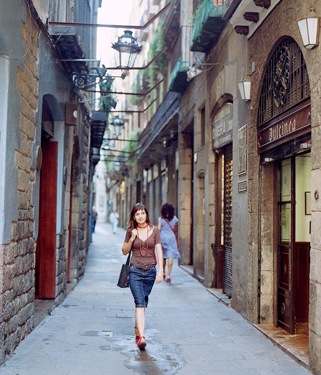 **Carrer de Petritxol** Lined with restored mosaics and art galleries, the Carrer de Petritxol is best known as the chocolate street, where the aromas of churros and xocolate perfume winter days.