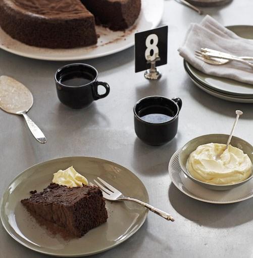**Chocolate sour cherry cake** **Chocolate sour cherry cake**    [View Recipe](http://gourmettraveller.com.au/chocolate-sour-cherry-cake.htm)     PHOTOGRAPH **VANESSA LEVIS**