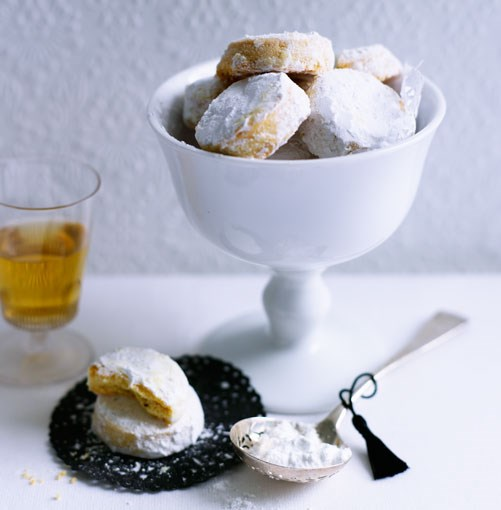 **Alfajores** **Alfajores**    [View Recipe](http://gourmettraveller.com.au/alfajores.htm)     PHOTOGRAPH **BEN DEARNLEY**