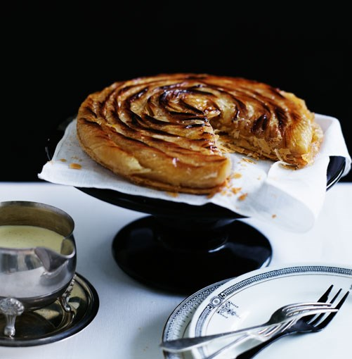 **Tarta de manzana** **Tarta de manzana**    [View Recipe](http://gourmettraveller.com.au/tarta_de_manzana.htm)     PHOTOGRAPH **BEN DEARNLEY**