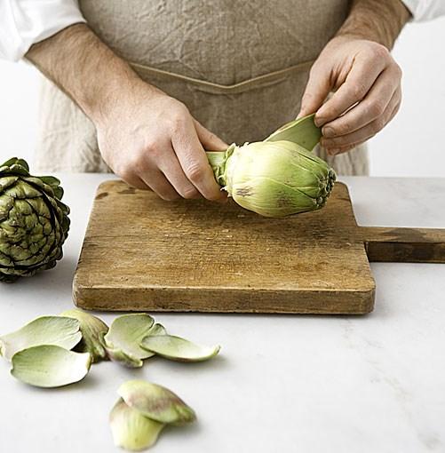How to prepare artichokes