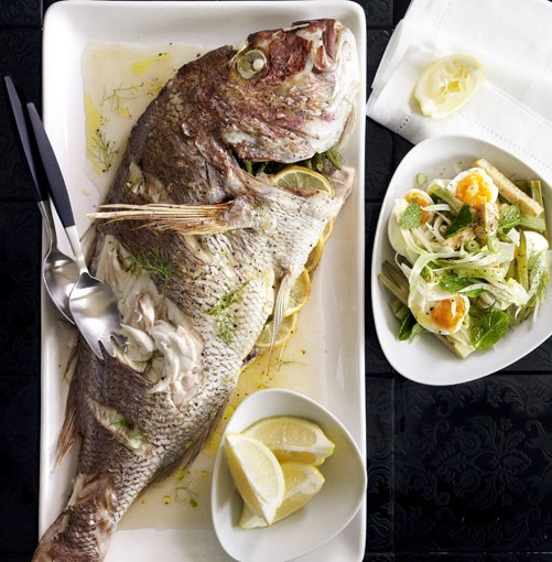 **Vermouth snapper with fennel, celeriac and soft egg** **Vermouth snapper with fennel, celeriac and soft egg**    [View Recipe](http://www.gourmettraveller.com.au/vermouth-snapper-with-fennel-celeriac-and-soft-egg.htm)     PHOTOGRAPH **CHRIS CHEN**