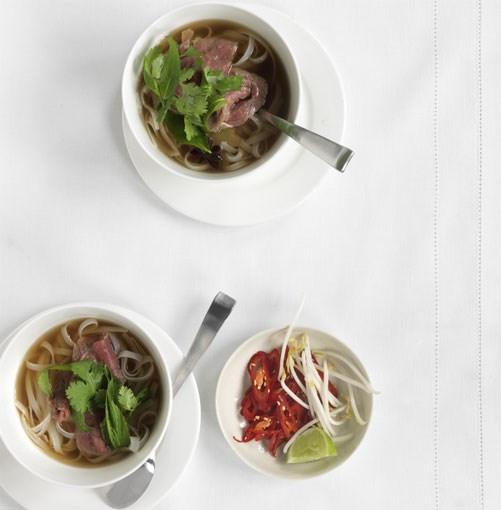 **Vietnamese beef noodle soup** **Vietnamese beef noodle soup**    [View Recipe](http://gourmettraveller.com.au/vietnamese-beef-noodle-soup.htm)     PHOTOGRAPH **JASON LOUCAS**