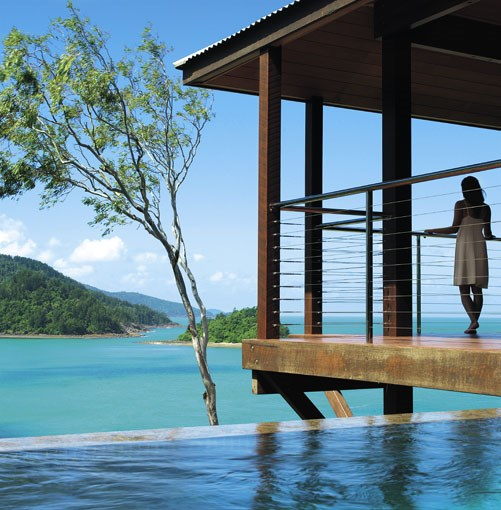 **Qualia, Hamilton Island, Qld** **READERS' CHOICE AWARDS: BEST RESORT ACCOMMODATION**   Winner: Qualia, Hamilton Island, Qld   Runners-up: Cable Beach Club, WA; Emma Gorge Resort, El Questro, WA   When it first opened, Qualia looked like a contender for best resort in the Queensland islands. Now it's clear it can hold its own among the world's best. Billionaire Bob Oatley's dream of opening an exclusive, adults-only pleasure palace in the hub of the Whitsundays was a sun-stroke of genius. Who wouldn't want to escape to a sanctuary of timber and stone pavilions - many with infinity-edge plunge pools and views of the Coral Sea - on a private corner of Hamilton Island? With WiFi and iPods, plasma screens and 150 movies, there's little chance you'll be starved of things to do. But just in case, there's a raft of activities to stir the senses, such as helicopter rides over the archipelago, diving and parasailing.   **[www.qualia.com.au](http://www.qualia.com.au)**  PHOTOGRAPH **JASON LOUCAS**