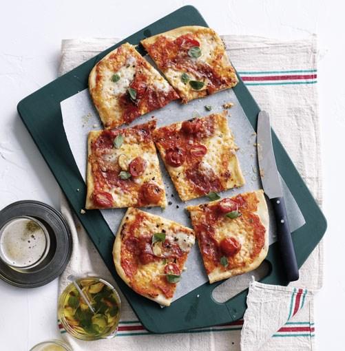 "[**Salami and mozzarella pizza a taglio**](http://www.gourmettraveller.com.au/salami-and-mozzarella-pizza-a-taglio.htm|target=""_blank"")"