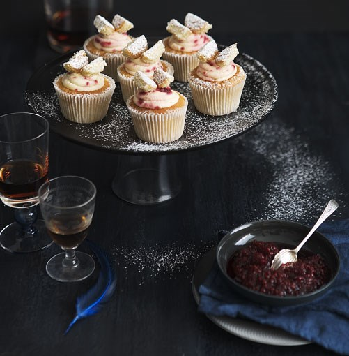 **Brown sugar butterfly cakes with raspberry cream** **Brown sugar butterfly cakes with raspberry cream**    [View Recipe](http://gourmettraveller.com.au/brown-sugar-butterfly-cakes-with-raspberry-cream.htm)     PHOTOGRAPH **AMANDA MCLAUCHLAN**