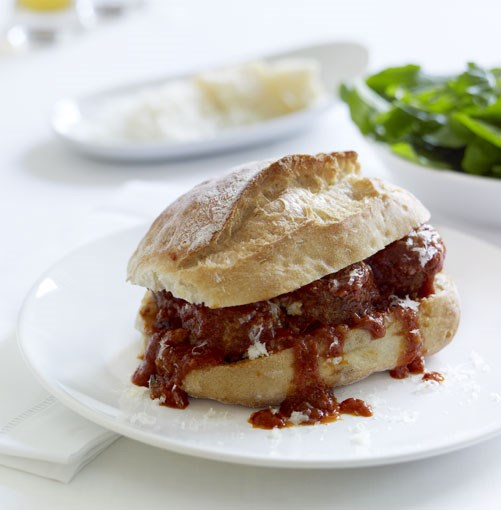 **Meatball sandwiches** **[Meatball sandwiches](http://www.gourmettraveller.com.au/meatball_sandwiches.htm)**      [](http://www.gourmettraveller.com.au/meatball_sandwiches.htm)      PHOTOGRAPH **CHRIS CHEN**