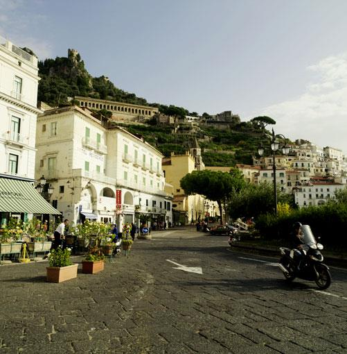 **The Amalfi Coast, Italy** **[The Amalfi Coast](http://gourmettraveller.com.au/the_love_boat.htm)**   Author Di Morrissey channels her inner Italian and falls head over heels for the Amalfi coast. Join her for the cruise of a lifetime (and a spot of shopping).      Click **[here](http://gourmettraveller.com.au/the_love_boat.htm)** for the article.      PHOTOGRAPH **WILLIAM MEPPEM**