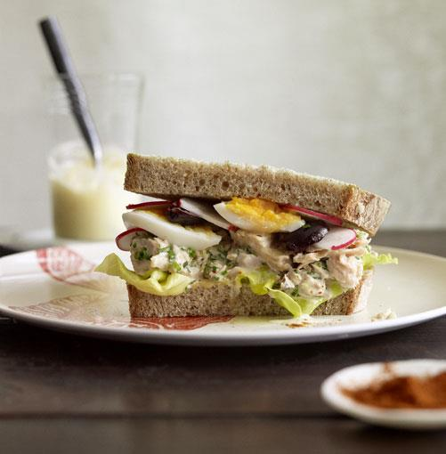 **Tuna Niçoise tartine** **[Tuna Niçoise tartine](http://www.gourmettraveller.com.au/thomas-keller-tuna-nicoise-tartine.htm)**   The confit garlic in this recipe is sweet and creamy, so you won't have to add as much oil and egg as usual to the aioli. This sandwich is adapted from a Bouchon Bakery recipe. - Thomas Keller      PHOTOGRAPH **CHRIS CHEN**      [](http://www.gourmettraveller.com.au/thomas-keller-tuna-nicoise-tartine.htm)