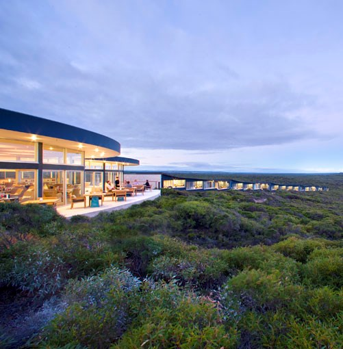 **Southern Ocean Lodge, Kangaroo Island, South Australia** **Southern Ocean Lodge, Kangaroo Island, South Australia**   Look out New Zealand. Baillie Lodges' $17-million foray into the luxury retreat business last year is set to give the trans-Tasman lodge network a run for its money. The Southern Ocean Lodge perches on a cliff above Hanson Bay surrounded by wilderness alive with native fauna – wallabies, bandicoots, platypuses and, of course, kangaroos. Sustainably styled in local limestone, glass and recycled timbers, the 21-suite haven features such adult attractions as a walk-in (and help yourself) wine cellar, an always-open bar, and accomplished regional cuisine from head chef Tim Bourke.   We like: The Southern Spa, featuring three treatment rooms decked in Florence Broadhurst wallpapers.   Hanson Bay Rd, Kangaroo Island, SA, (02) 9918 4355, **[southernoceanlodge.com.au](http://www.southernoceanlodge.com.au)**. From $900 per person per night, twin-share, minimum two-night stay.      PHOTOGRAPH **SHARYN CAIRNS**