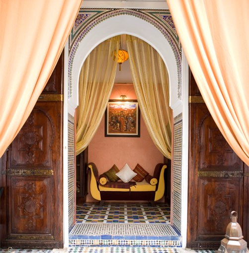 **Angsana Riads, Marrakech, Morocco** **Angsana Riads, Marrakech, Morocco**   Angsana's collection of riads offers six evocative experiences in the heart of exotic Marrakech. Each of the guesthouses has been authentically restored and modernised to exacting standards: Riad Si Said lies deep within the medina and its courtyard shimmers with antique mosaics; Riad Aida was once part of the Bahia Palace and home to Morocco's chief architect. Riad Tiwaline transports you to a 14th-century laneway filled with Arabian Nights fantasy, while at Riad Bab Firdaus a terrace restaurant serves Thai and Moroccan cuisine to its incredibly fortunate guests.   Room to book: The Majorelle suite in Riad Si Said.   Various locations, Marrakech, Morocco, 1800 050 019, **[angsana.com](http://www.angsana.com)**. Doubles from $183 per night.      PHOTOGRAPH **COURTESY ANGSANA RIADS**