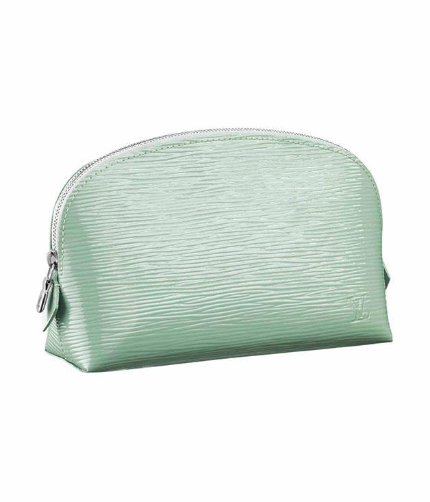****  [Louis Vuitton](http://louisvuitton.com.au) Epi Leather cosmetic pouch, $510.