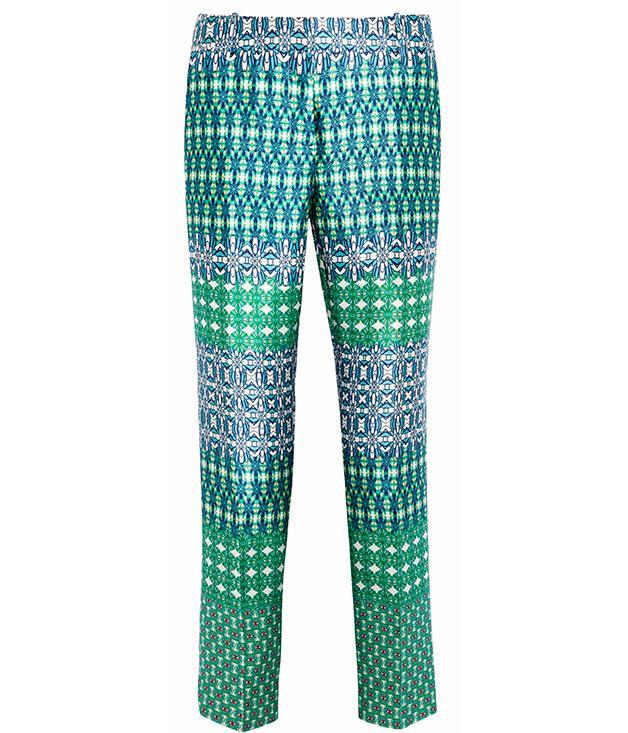 """****  J Crew """"Café"""" Capri pants, $850, from [Net-a-Porter](http://net-a-porter.com)."""
