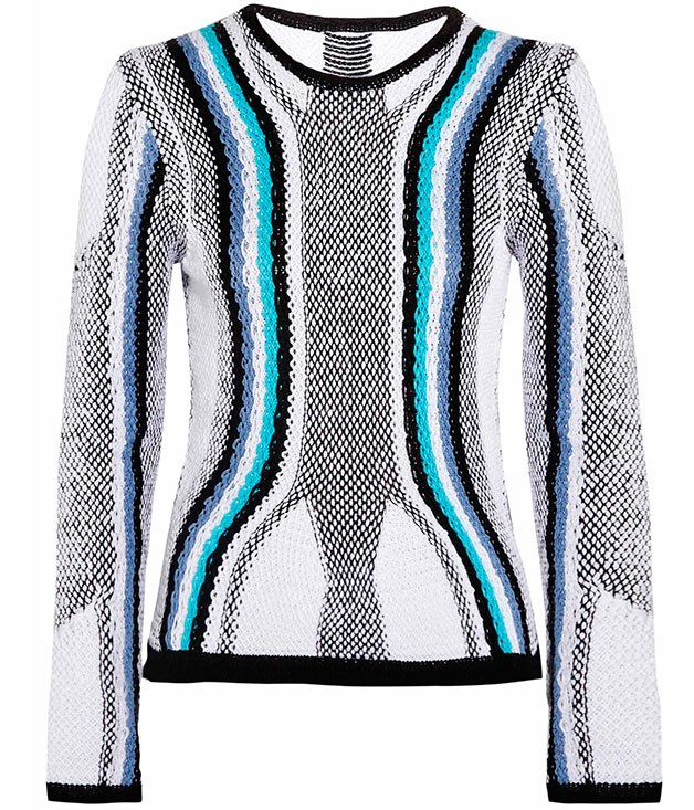 **** Peter Pilotto cotton jumper, $478, from [Net-a-Porter](http://net-a-porter.com).