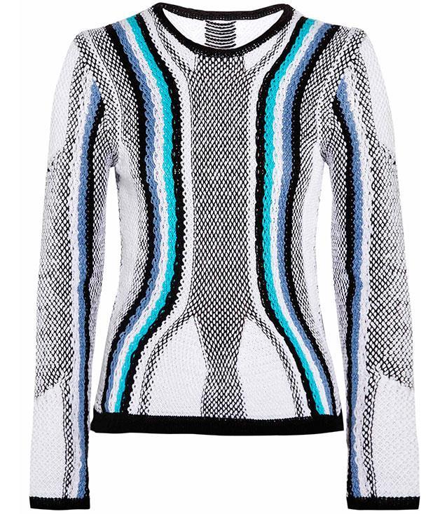 **** Peter Pilotto cotton jumper, $478, from [Net-a-Porter](http://net-a-porter.com).