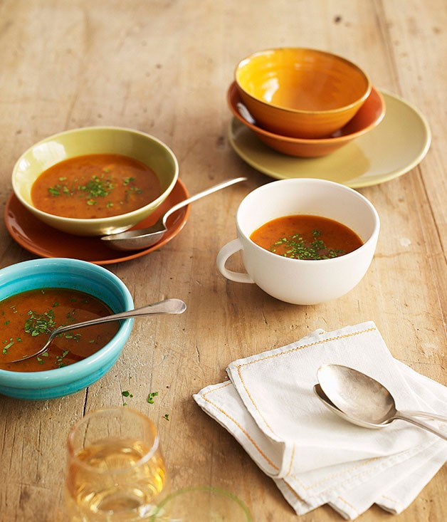 **Spicy crab soup**