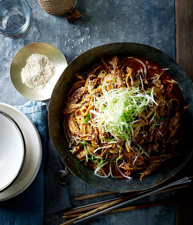 "**[Dainty Sichuan's bang bang chicken (bang bang ji)](https://www.gourmettraveller.com.au/recipes/chefs-recipes/bang-bang-chicken-bang-bang-ji-7838|target=""_blank"")**"