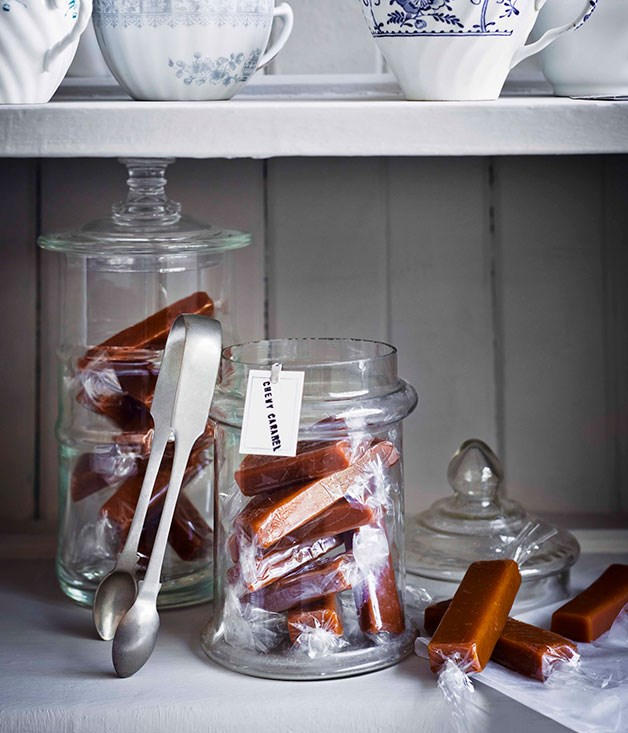 **Chewy caramels**