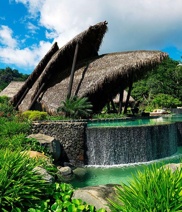 Fiji Beach: Fiji's Laucala Resort :: Gourmet Traveller