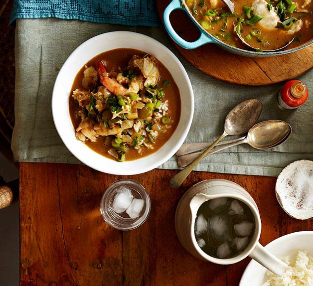 Boo's shrimp and crab gumbo