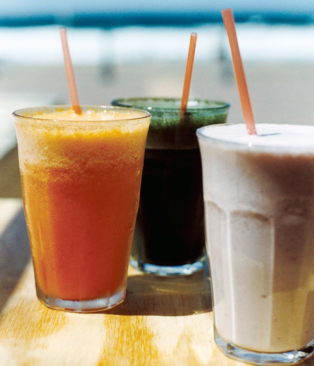Spirulina Rush (pictured middle)