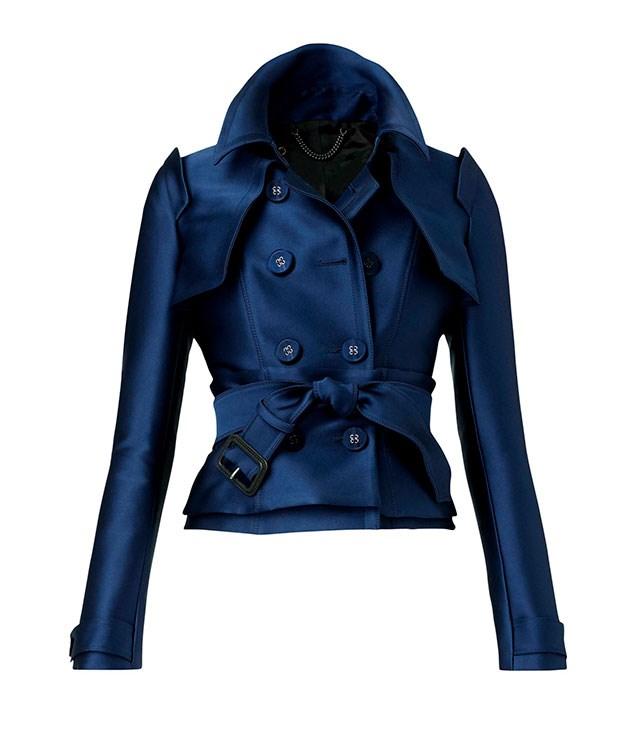 "**** Burberry Prorsum satin corset trench jacket, $2795. [au.burberry.com](http://au.burberry.com ""Burberry"")"