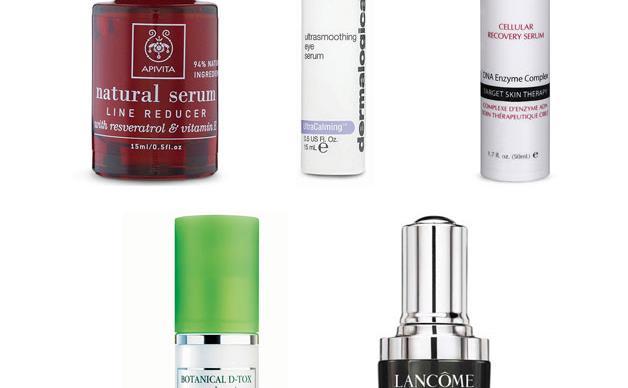 Vanity case: serums