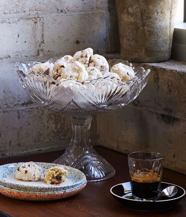 "**[Sour cherry amaretti](http://www.gourmettraveller.com.au/recipes/chefs-recipes/sour-cherry-amaretti-7855 target=""_blank"")**"