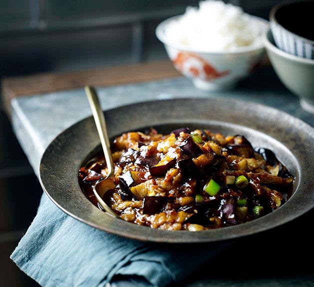 Fish-fragrant eggplant (Yu xiang qie zi)