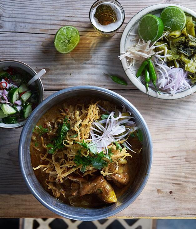 Khao soi - winter recipes