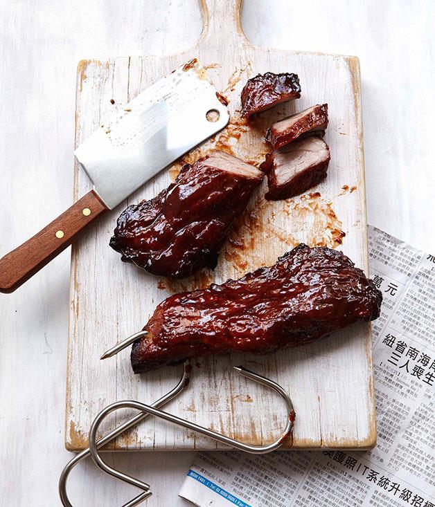 "**[Char siu](http://www.gourmettraveller.com.au/recipes/browse-all/char-siu-14146|target=""_blank"")**"