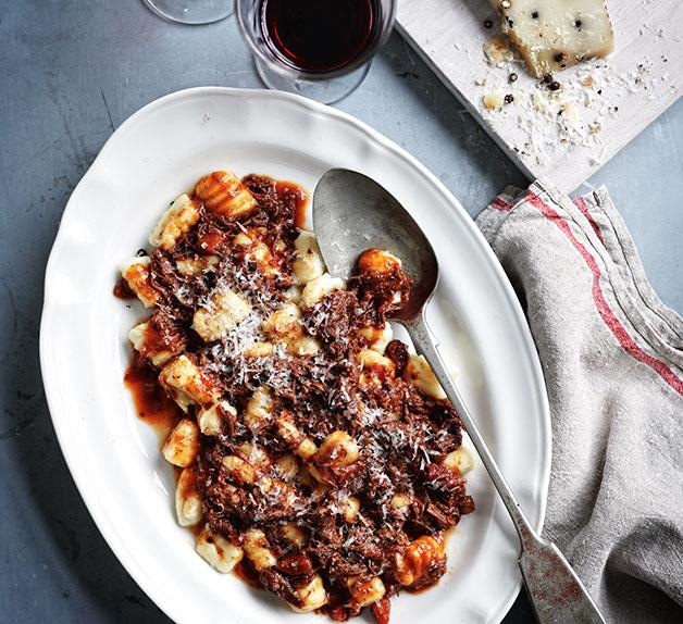 Gnocchi with short rib ragù