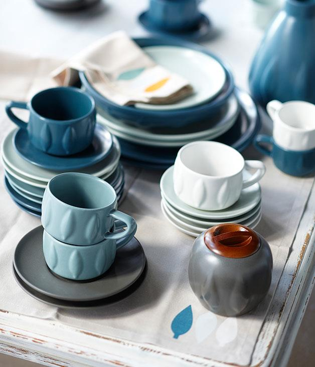 "**** Canberra-based stoneware studio [Bison](http://www.bisonhome.com/ ""Bison Home"") has returned from a brief production hiatus with some highly covetable new pieces from its new Poplar series."