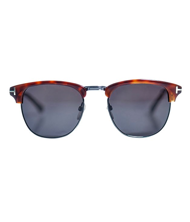 "**** Tom Ford tortoiseshell ""Clubman"" sunglasses, $330, from [Matches Fashion](http://www.matchesfashion.com ""Matches Fashion"")."
