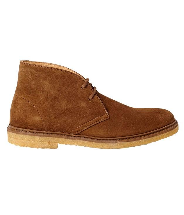 "**** A.P.C. suede ""Desert"" boots, $342, from [Mr Porter](http://www.mrporter.com ""Mr Porter"")."