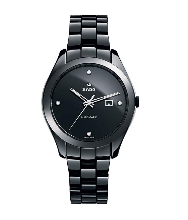 """**** [Rado](http://www.rado.com/en/ """"Rado"""") """"HyperChrome Ceramic"""" watch, $3475."""