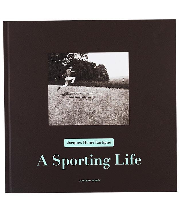 "**** _A Sporting Life: Photographs_ by Jacques Henri Lartigue (Actes Sud, $100, hbk) from [Hermès](http://australia.hermes.com/ ""Hermes"")."