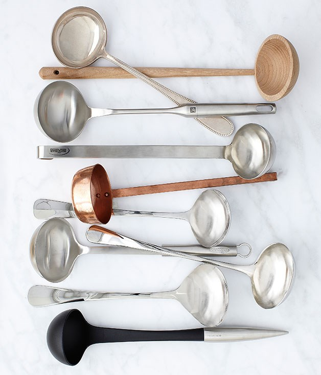"**** Robust, rustic or Asian, a melting pot of comforting goodness comes in many guises. A great soup deserves a stylish [ladle](http://gourmettraveller.com.au/entertaining/style/2013/7/soup-ladles/ ""Soup ladles""); here's a few of our favourites."