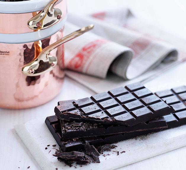 Tempered chocolate
