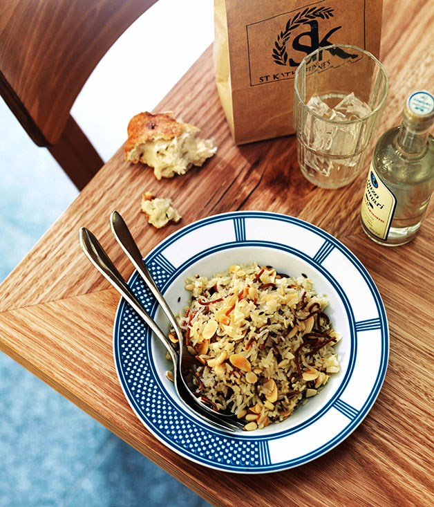 "[**Habibi rice**](https://www.gourmettraveller.com.au/recipes/chefs-recipes/habibi-rice-7694|target=""_blank"") <br><br>"