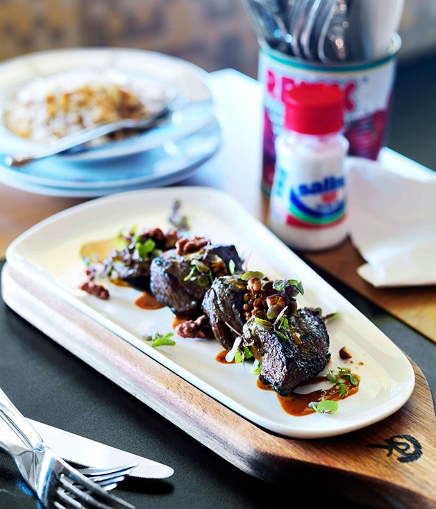 "[**Beef rump with Lebanese seven-spice and soy-tahini dressing**](https://www.gourmettraveller.com.au/recipes/chefs-recipes/beef-rump-with-lebanese-seven-spice-and-soy-tahini-dressing-7695|target=""_blank"") <br><br>"