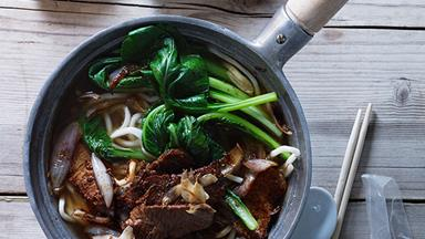 Xinjiang-style noodle soup