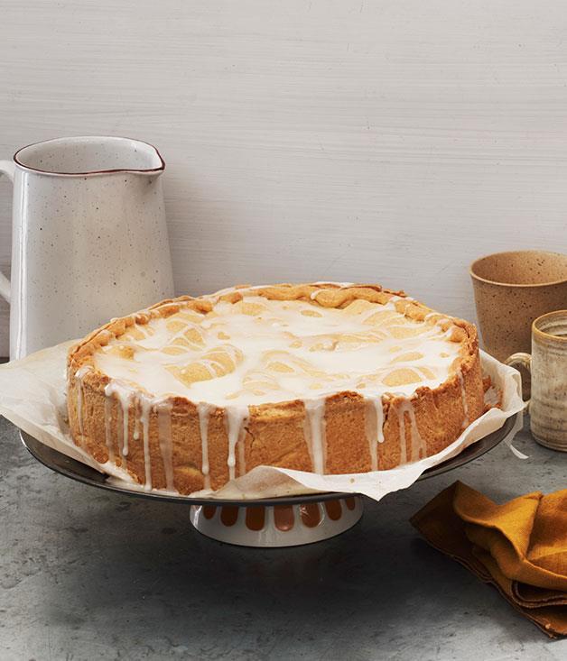 "**[Apfel kuchen](https://www.gourmettraveller.com.au/recipes/chefs-recipes/apfel-kuchen-7875 target=""_blank"")**"