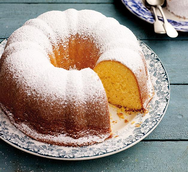 Yoghurt cake with lemon (Yiaourtopita)
