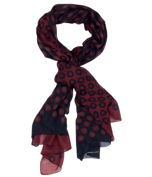 "**** [Hermès](http://australia.hermes.com ""Hermes"") scarf, $1060."