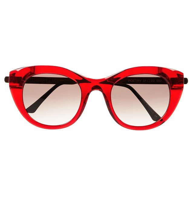 """**** Thierry Lasry """"Tom Poetry"""" sunglasses, $413, from [Net-a-Porter](http://www.net-a-porter.com """"Net-a-Porter"""")."""