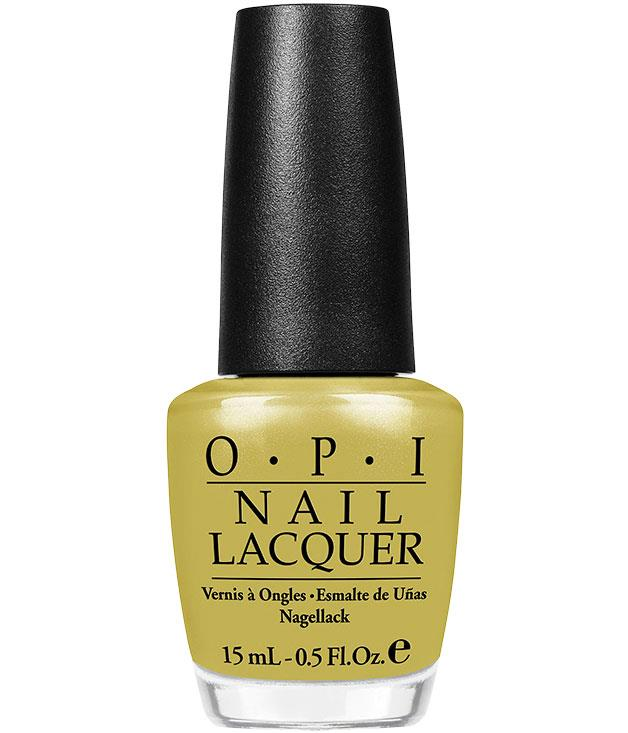 "**** [OPI](http://www.opi.net.au ""OPI"") ""Don't Talk Bach to Me"" nail lacquer, $19.95."